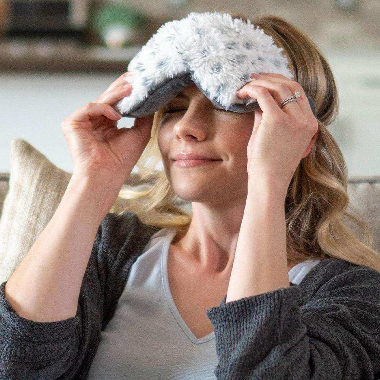 Warmies Eye Mask - Snowy