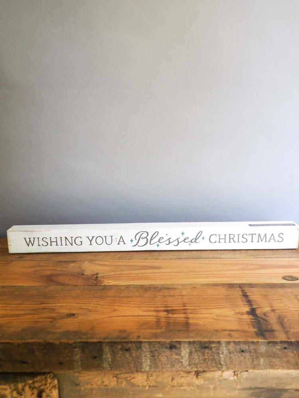 Blessed Christmas Photo Holder