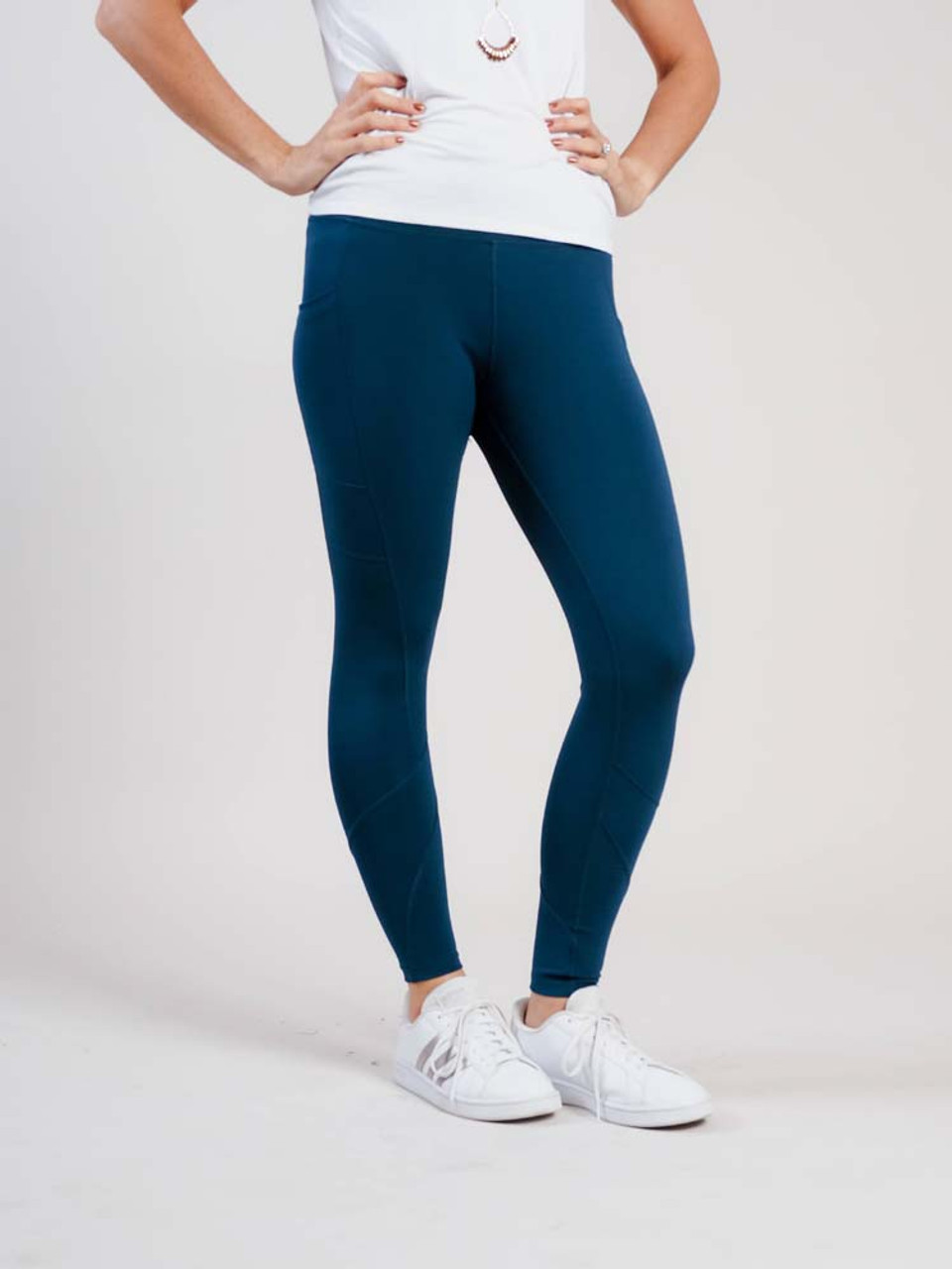 teal active lifestyle leggings