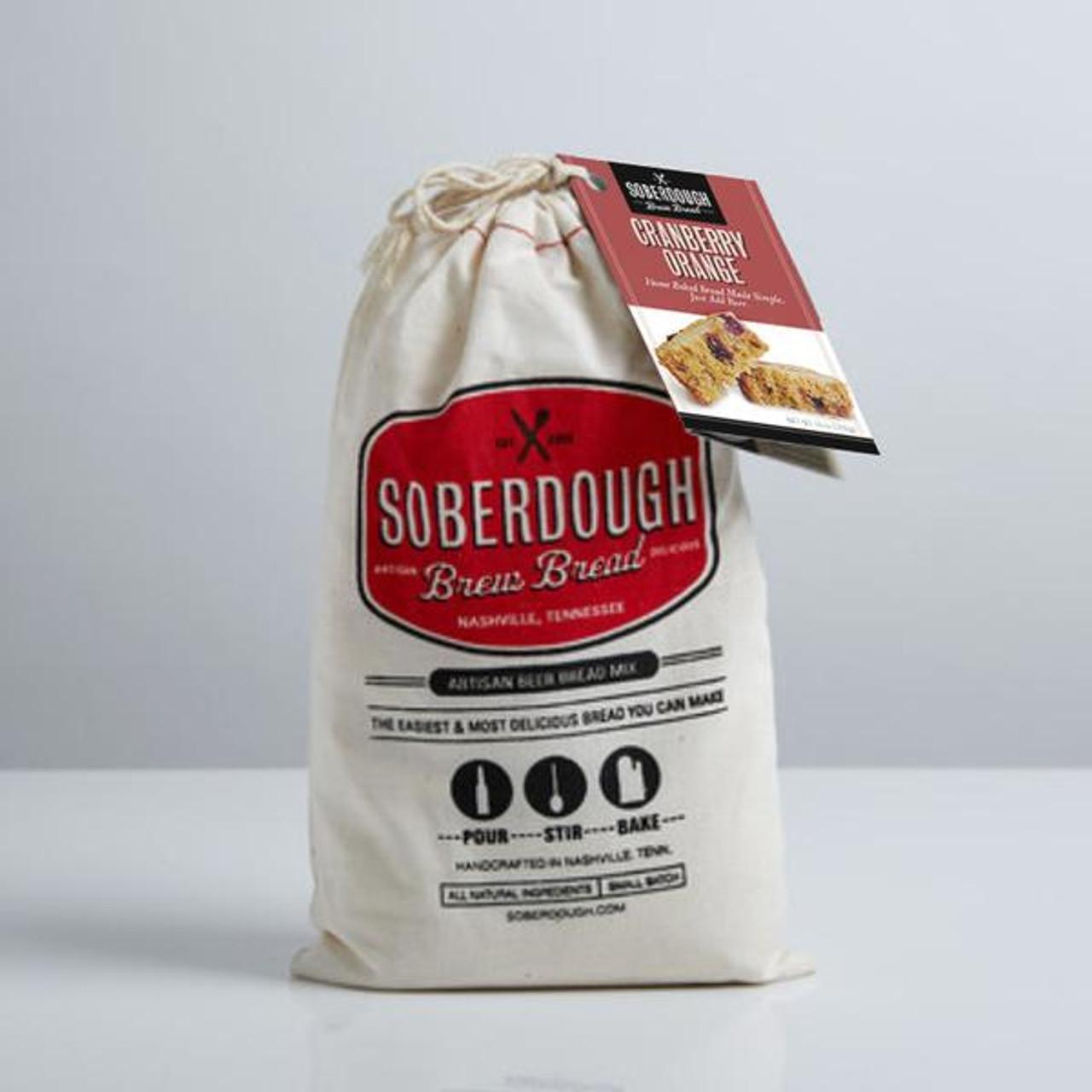 Soberdough cranberry and orange beer bread