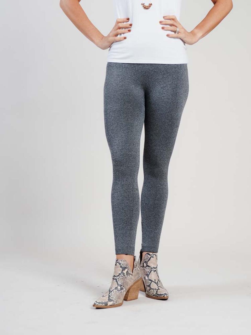 grey fleece lined leggings
