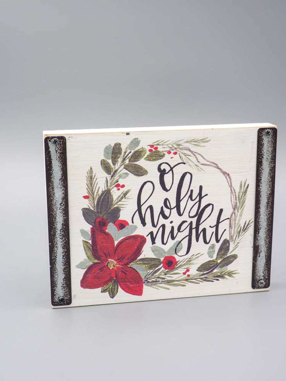 oh holy night wooden block