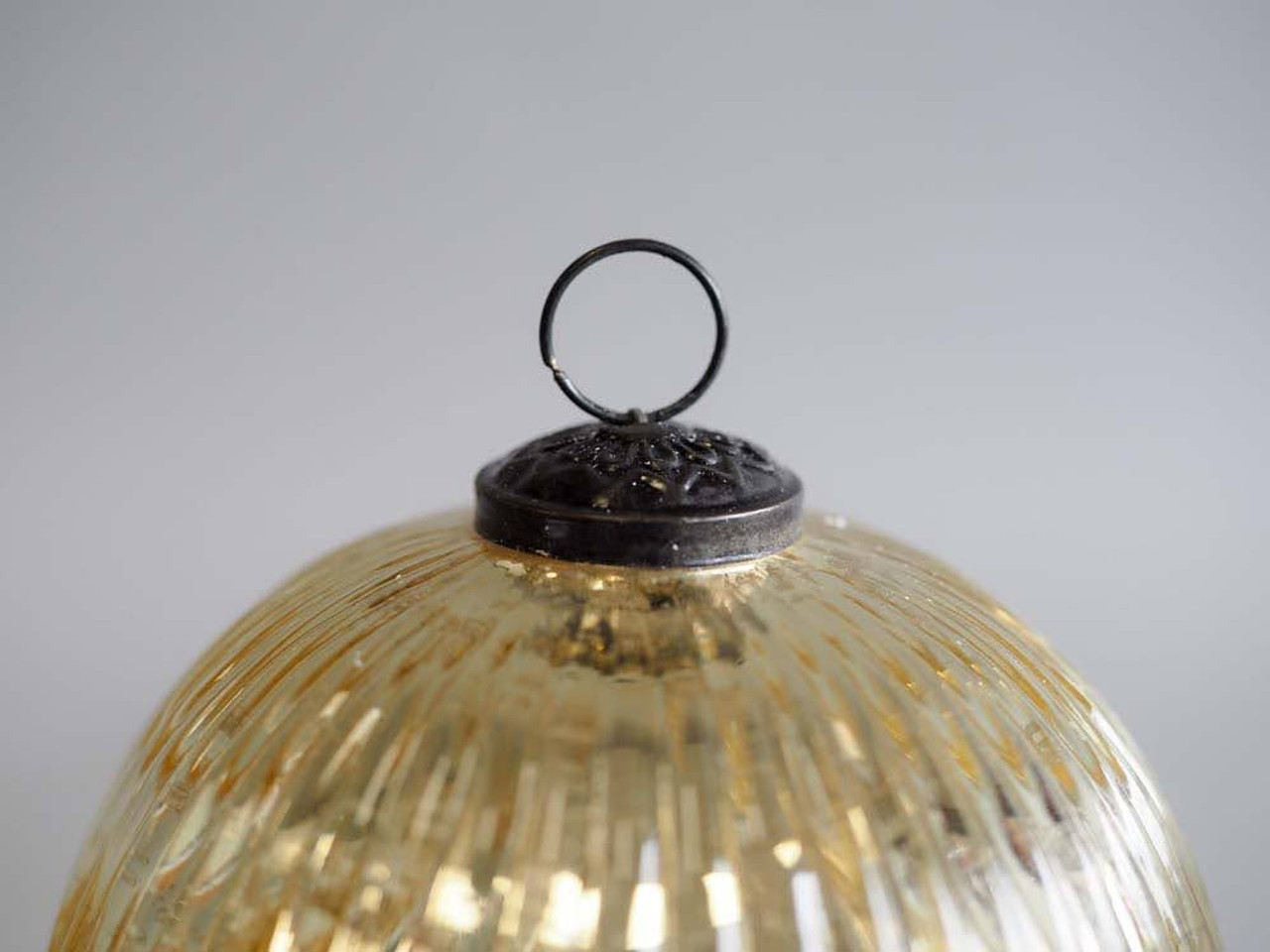 Winter Wood Gold 3.5 Inch Ornament Candle