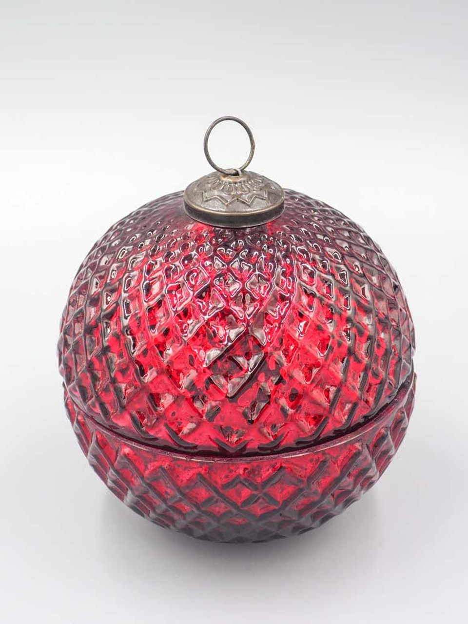 Cranberry Spice Red 7 Inch Ornament Candle