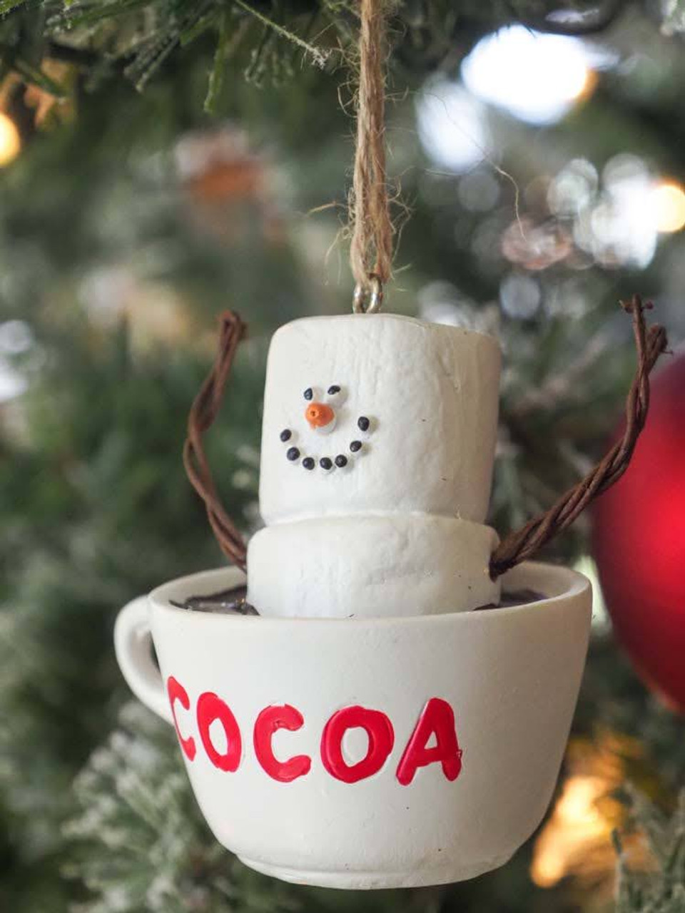 Smores Cup of Cocoa Ornament
