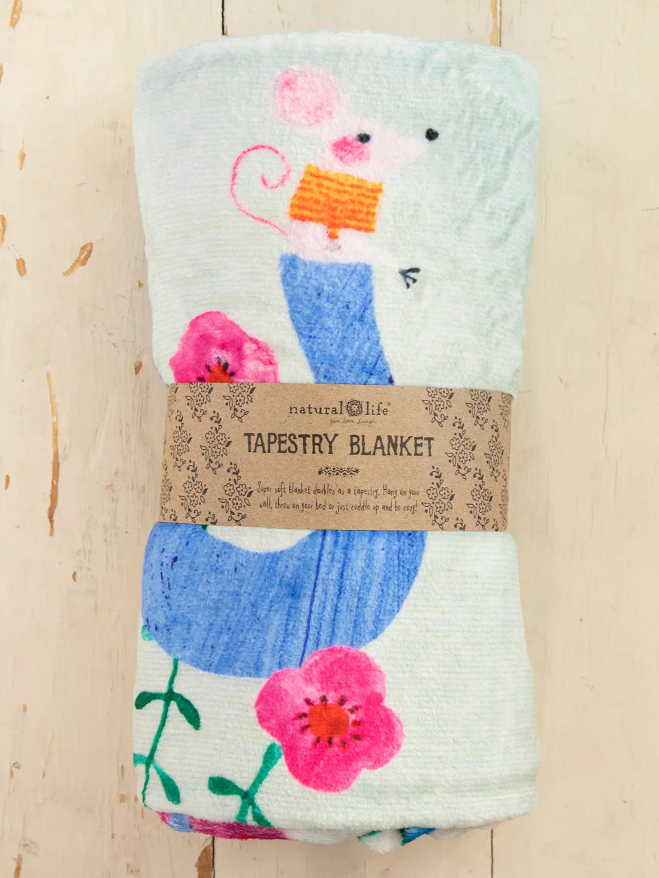 We Rise By Lifting Others Tapestry Blanket