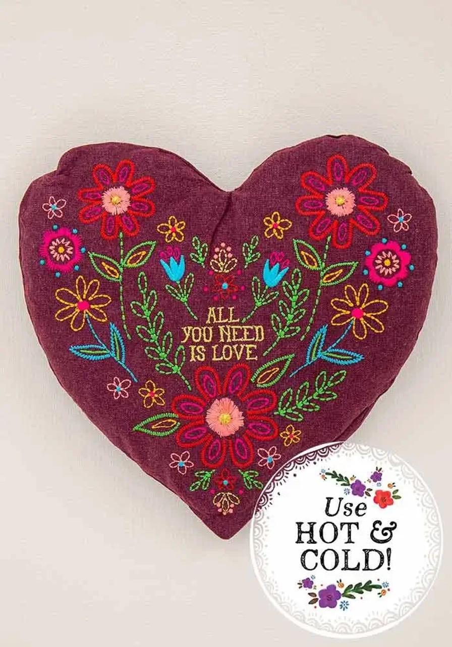 Heart Heating Pad