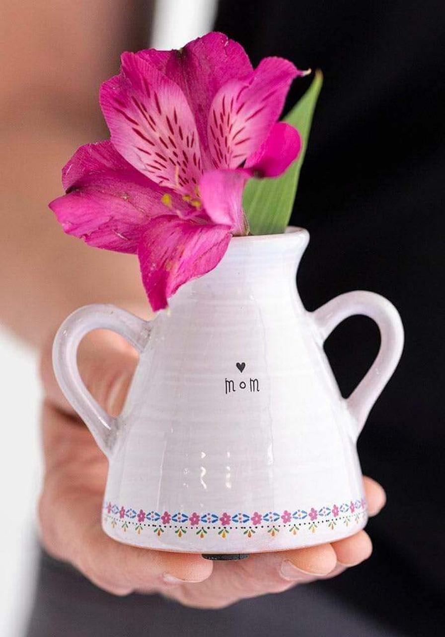 Mom Artisan Bud Vase