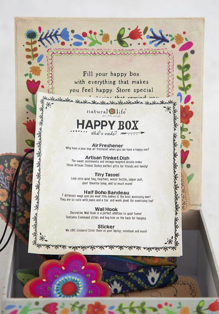 You Make the World a Better Place Happy Box