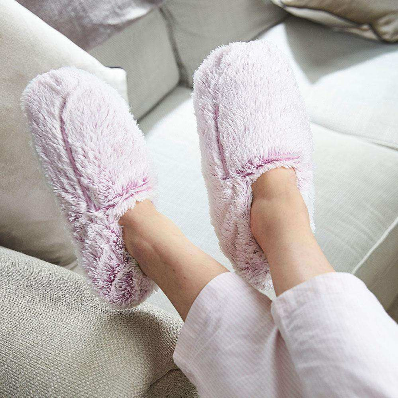 Slippers in Marshmallow Pink