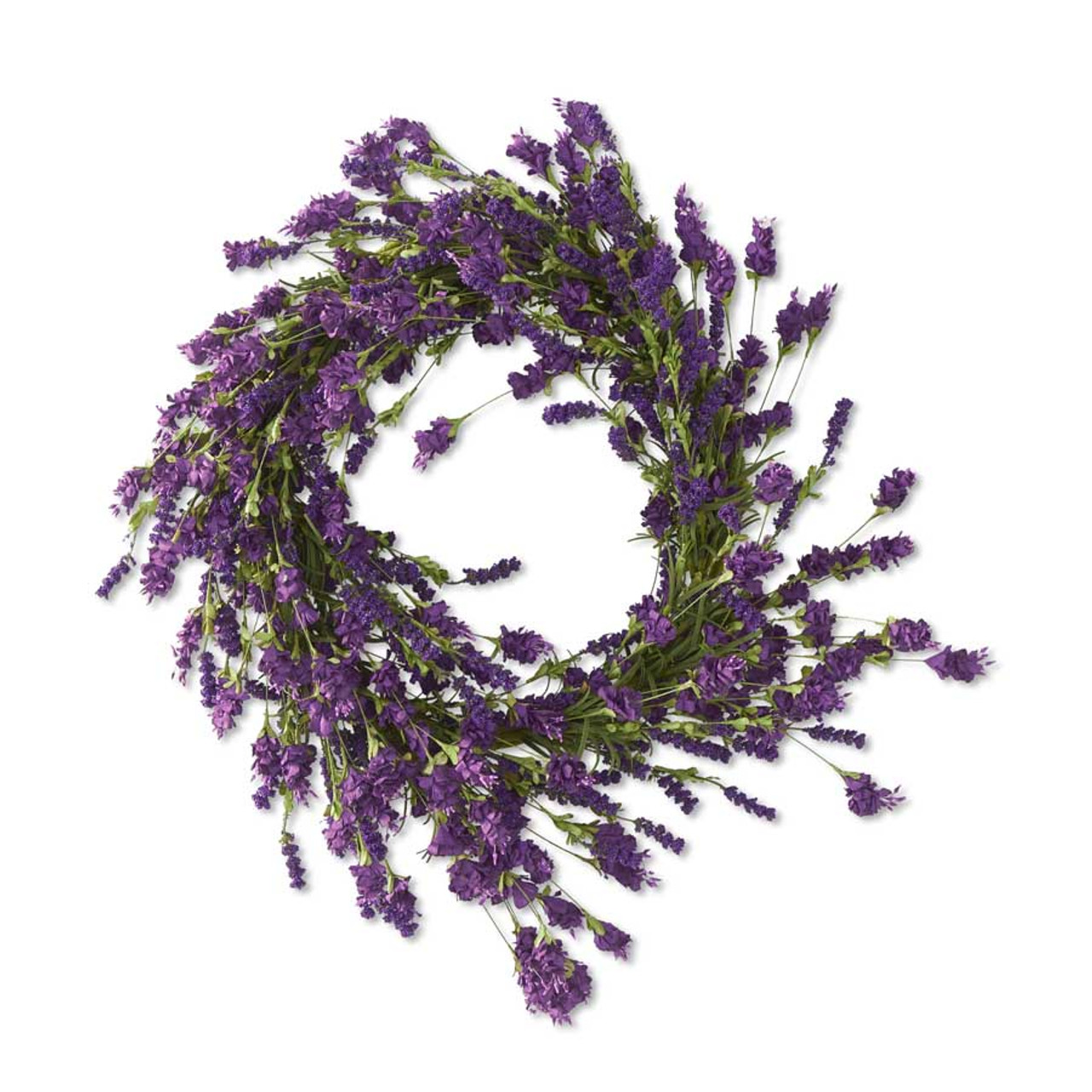 Purple Hops and Berry Wreath 24 Inch