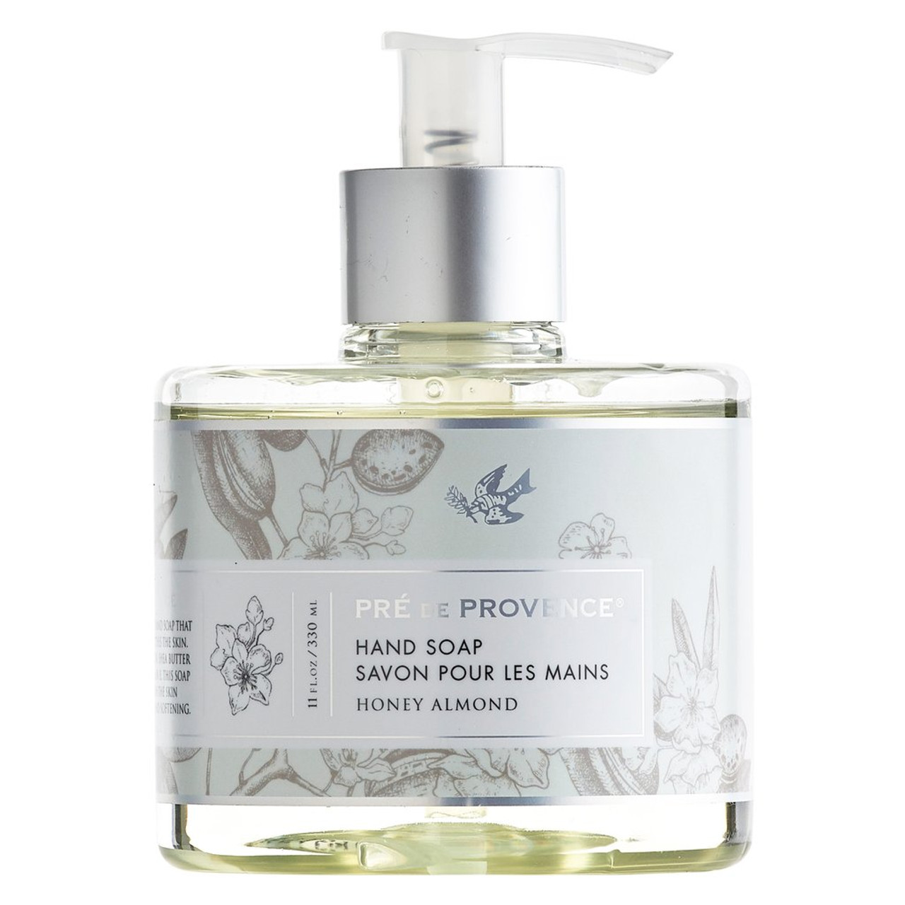 A divinely scented liquid hand soap that gently cleanses and soothes the skin. Formulated with glycerin, shea butter, hydro extract, and vitamin E. This soap is designed to nourish the skin while gently cleansing and softening.