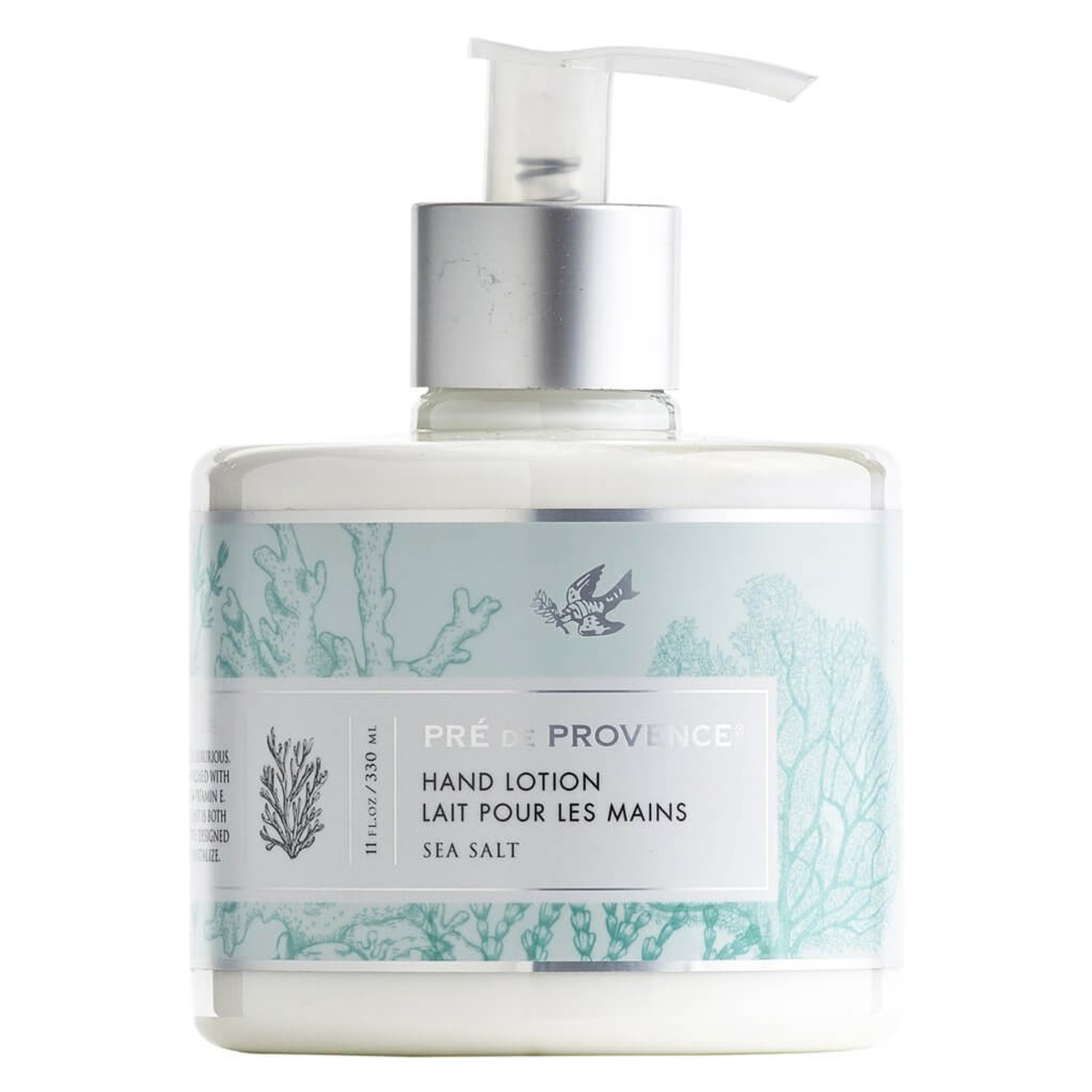 This delicately fragranced, luxurious, silky smooth lotion is enriched with shea butter, glycerin, and vitamin E. This multi-tasking emollient is both nourishing and protective; designed to deeply hydrate and revitalize. 11 oz.