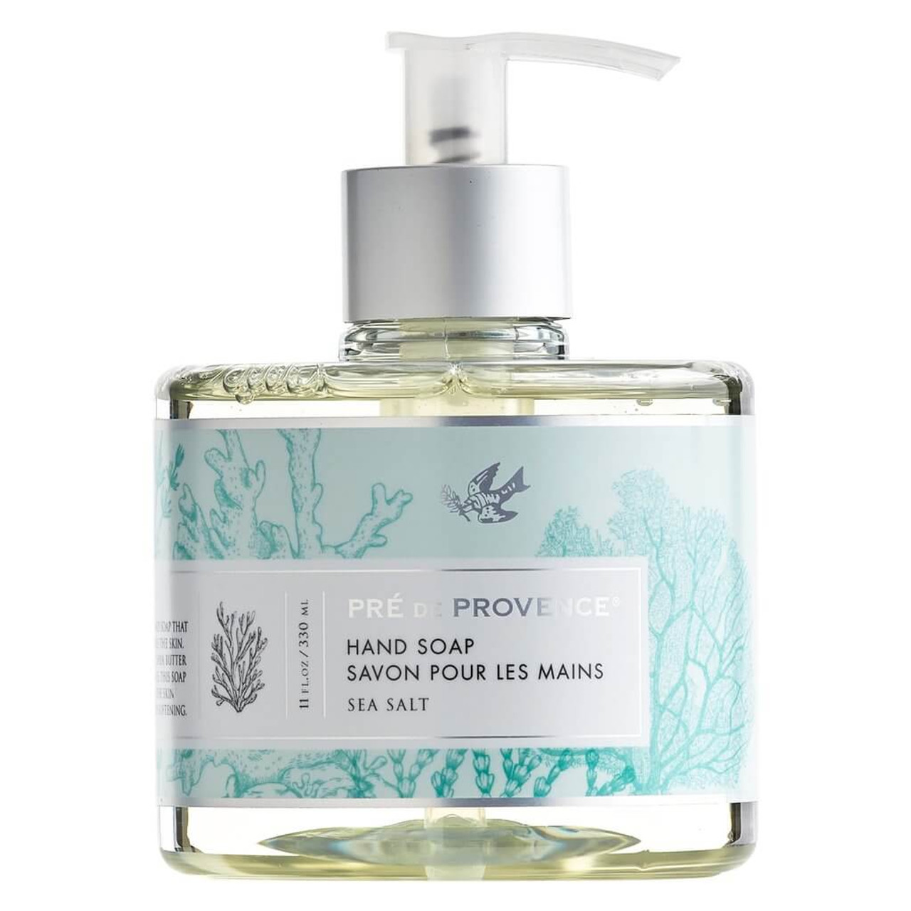 A divinely scented liquid hand soap that gently cleanses and soothes the skin. Formulated with glycerin, shea butter, hydro extract, and vitamin E. This soap is designed to nourish the skin while gently cleansing and softening. 11 oz.