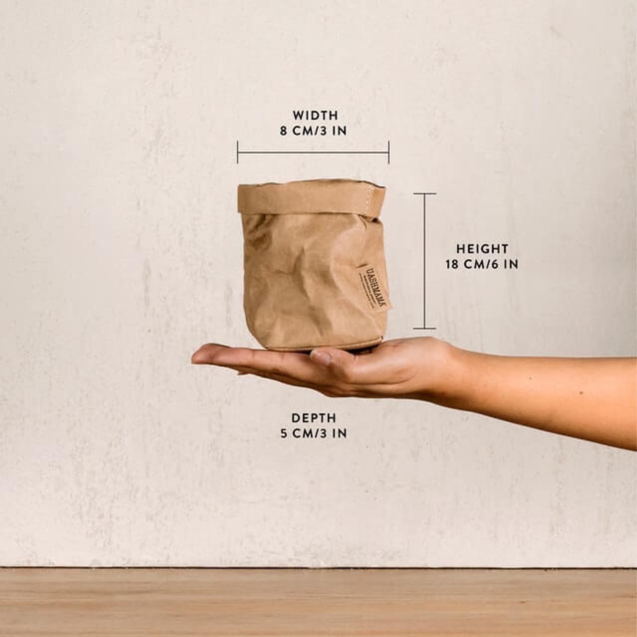 UASHMAMA piccolo organic paper bags