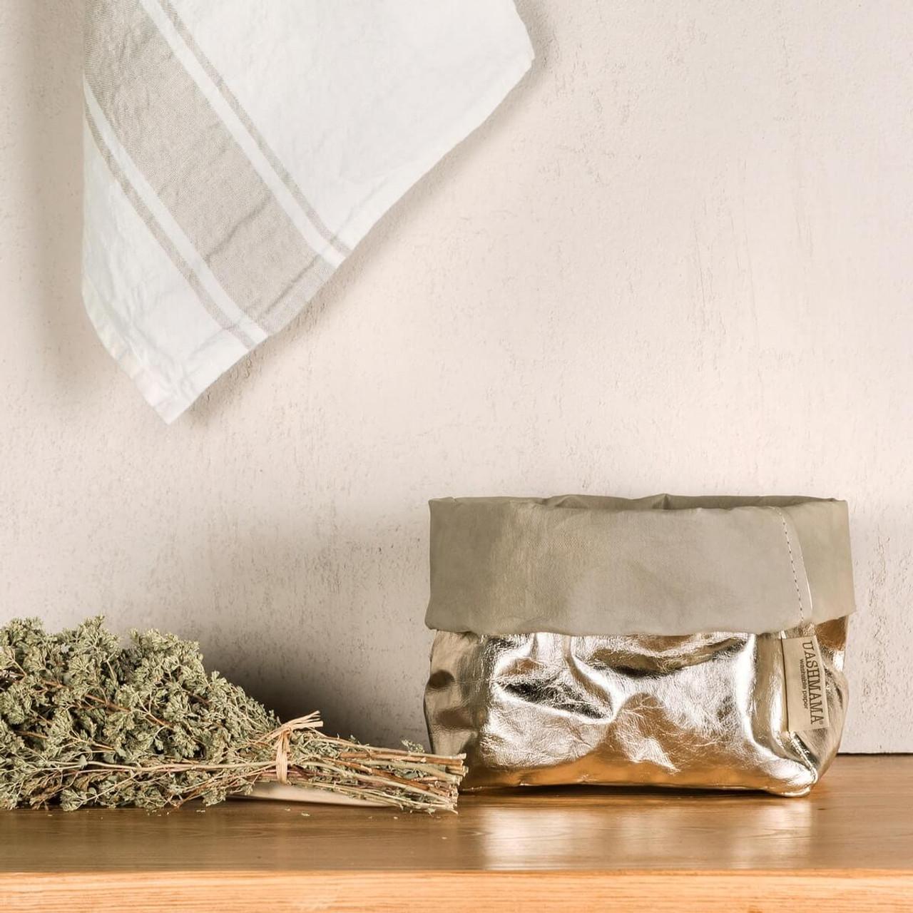 UASHMAMA medium organic paper bags