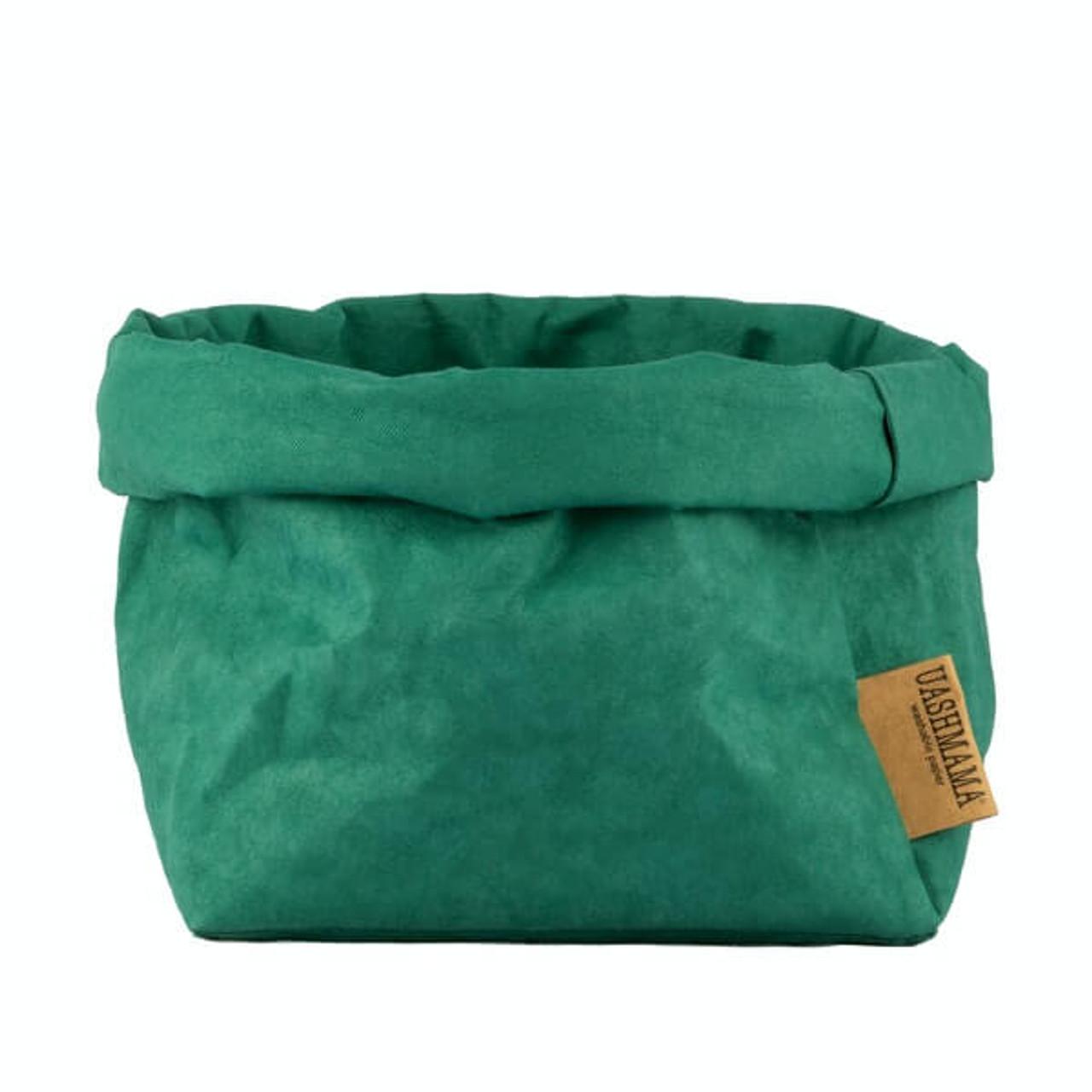 UASHMAMA large organic paper bags smeraldo