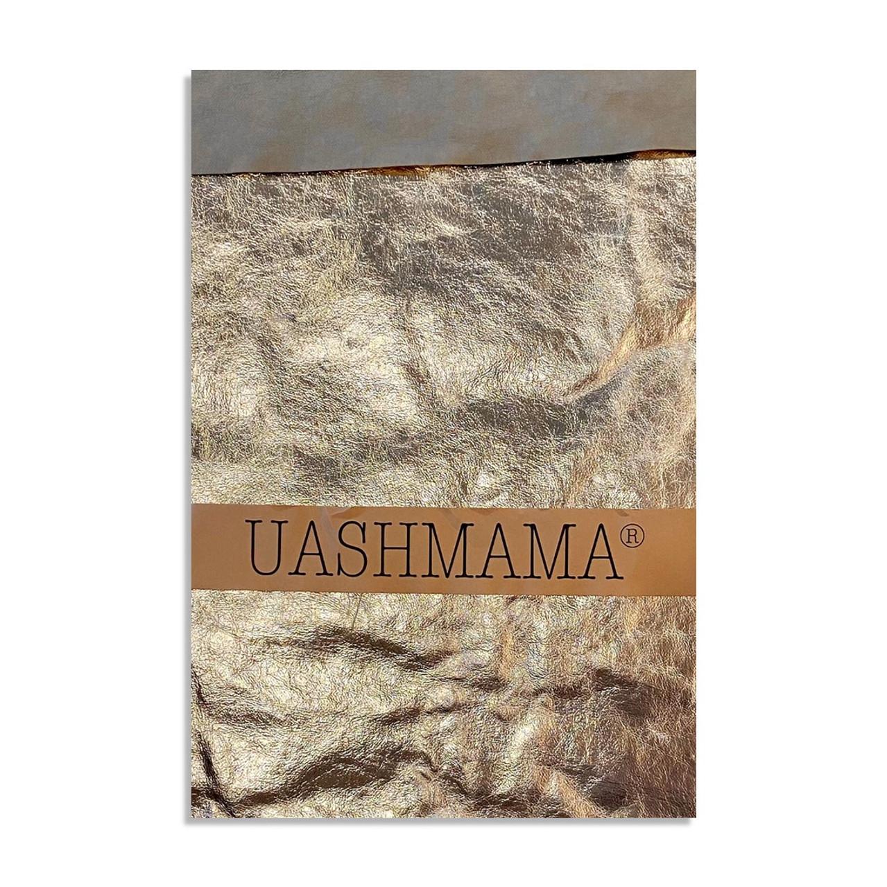 UASHMAMA gigante organic paper bags Metallo Gold
