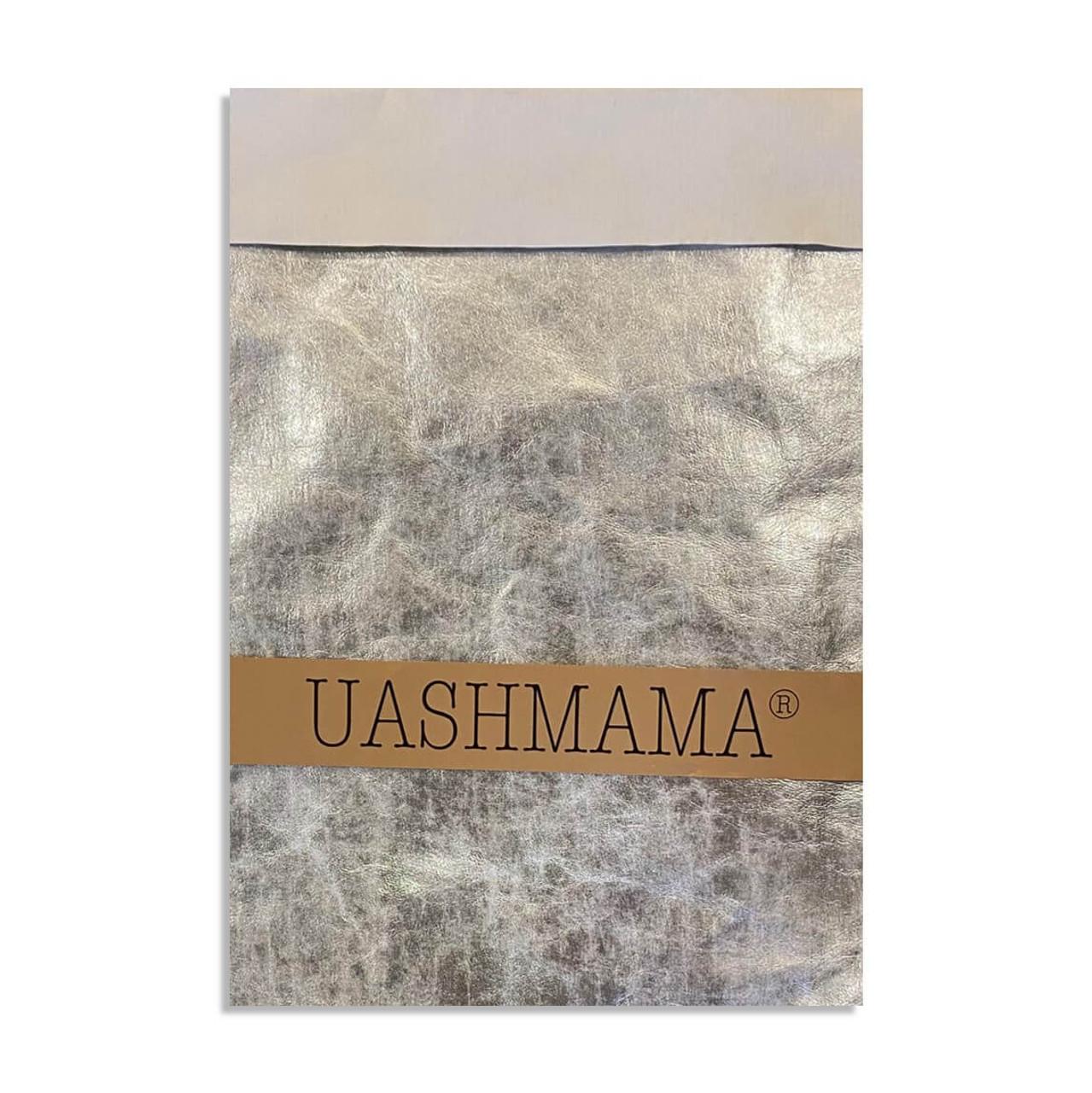 UASHMAMA gigante organic paper bags nivola silver
