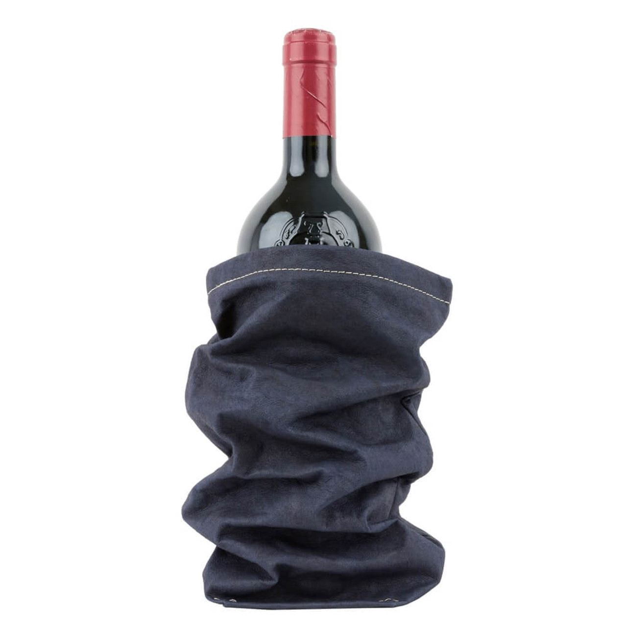 UASHMAMA organic paper wine bags blue