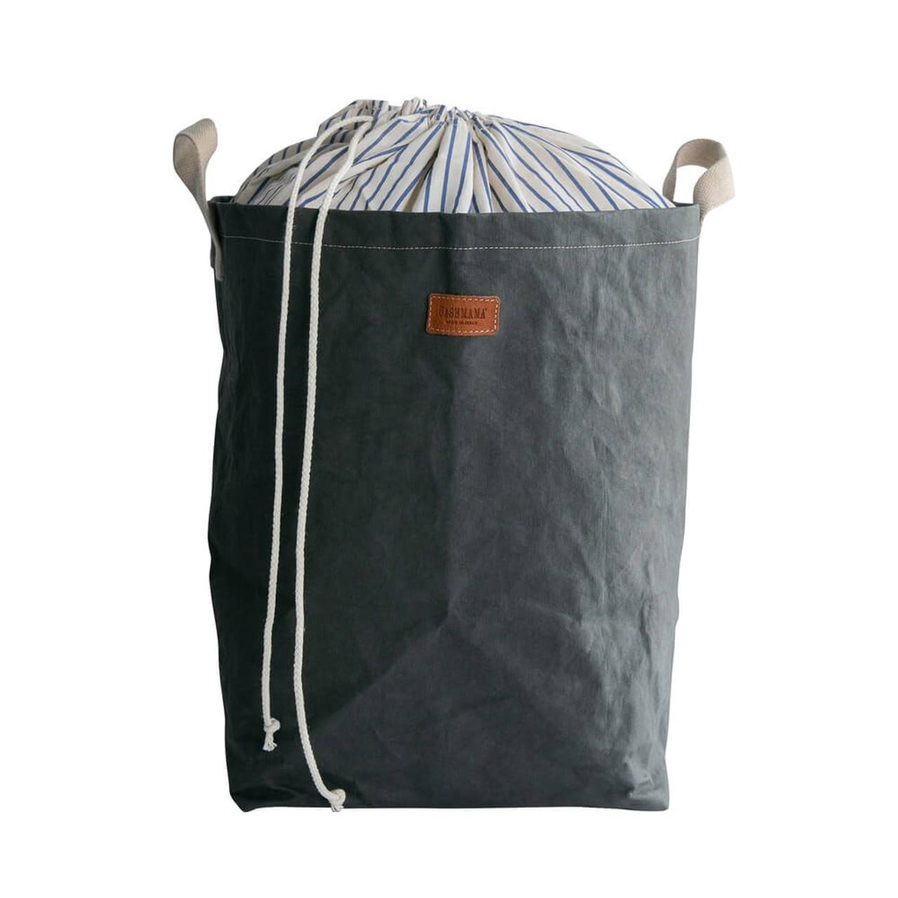 uashmama positano laundry organic paper dark drey