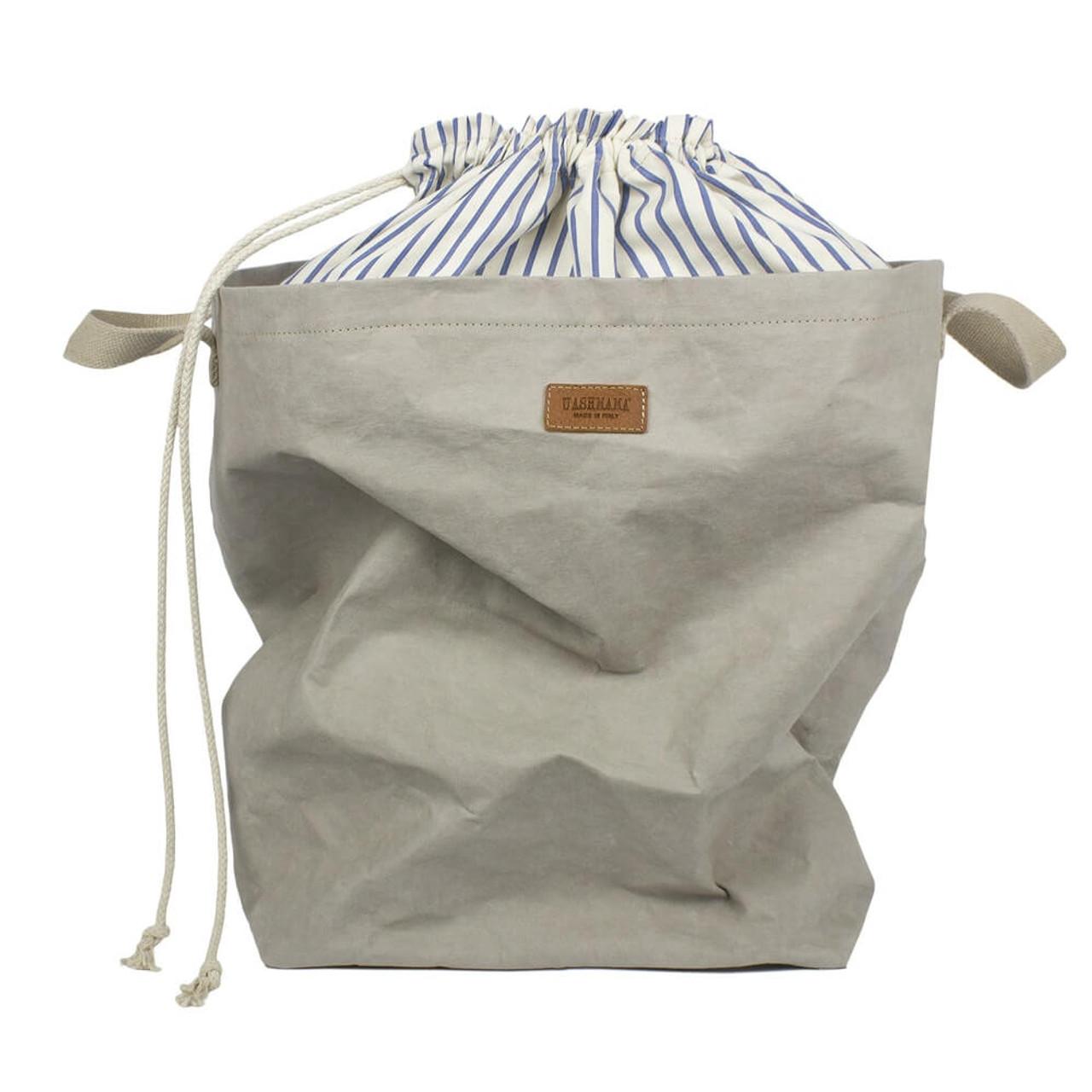 uashmama positano laundry organic paper grey