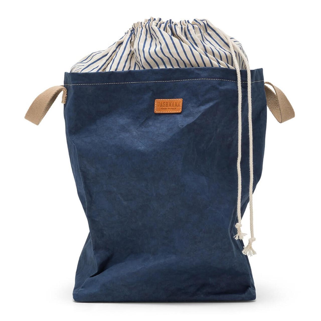 uashmama positano laundry organic paper blue