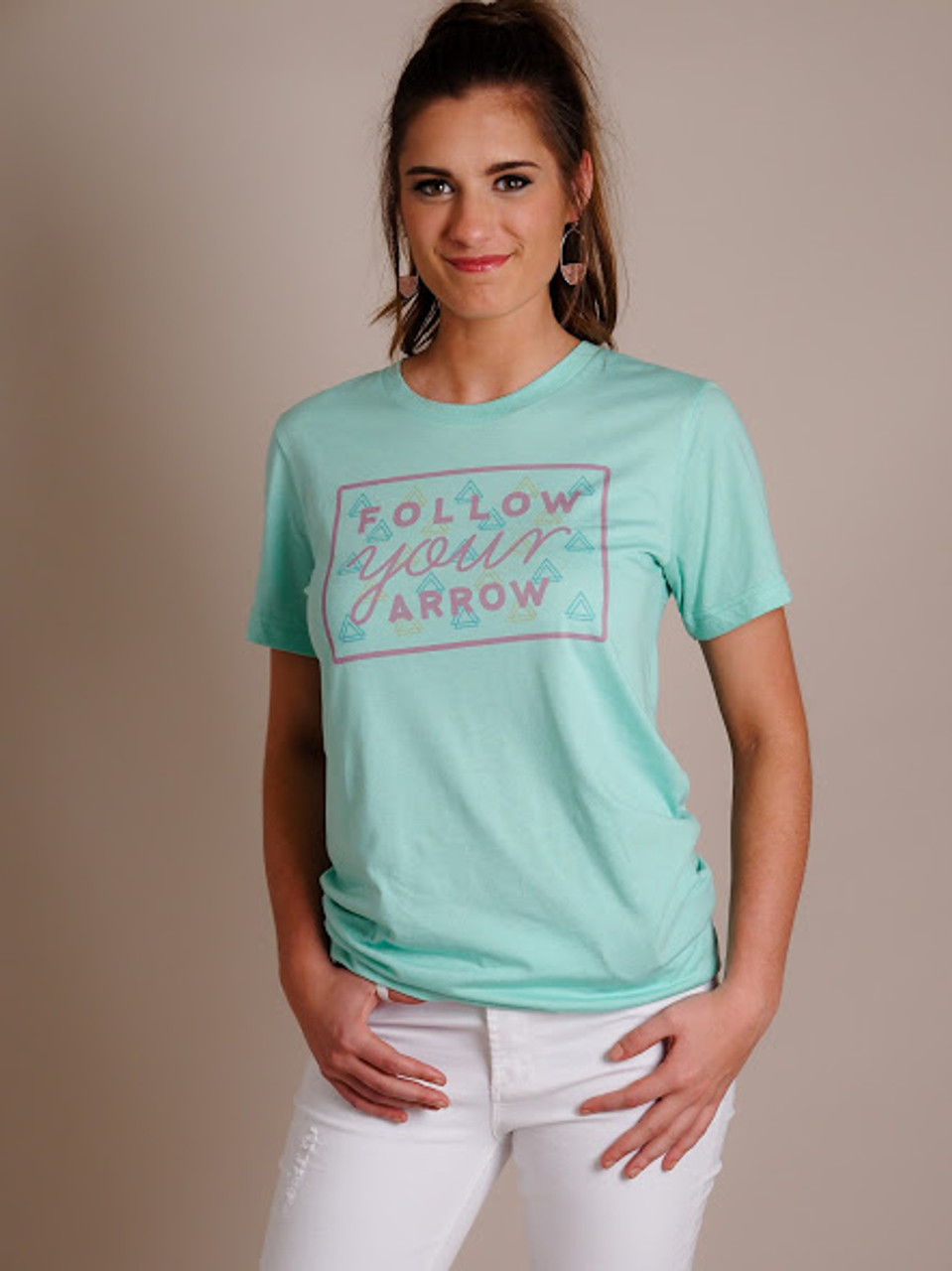 Follow Your Arrow Graphic Tee