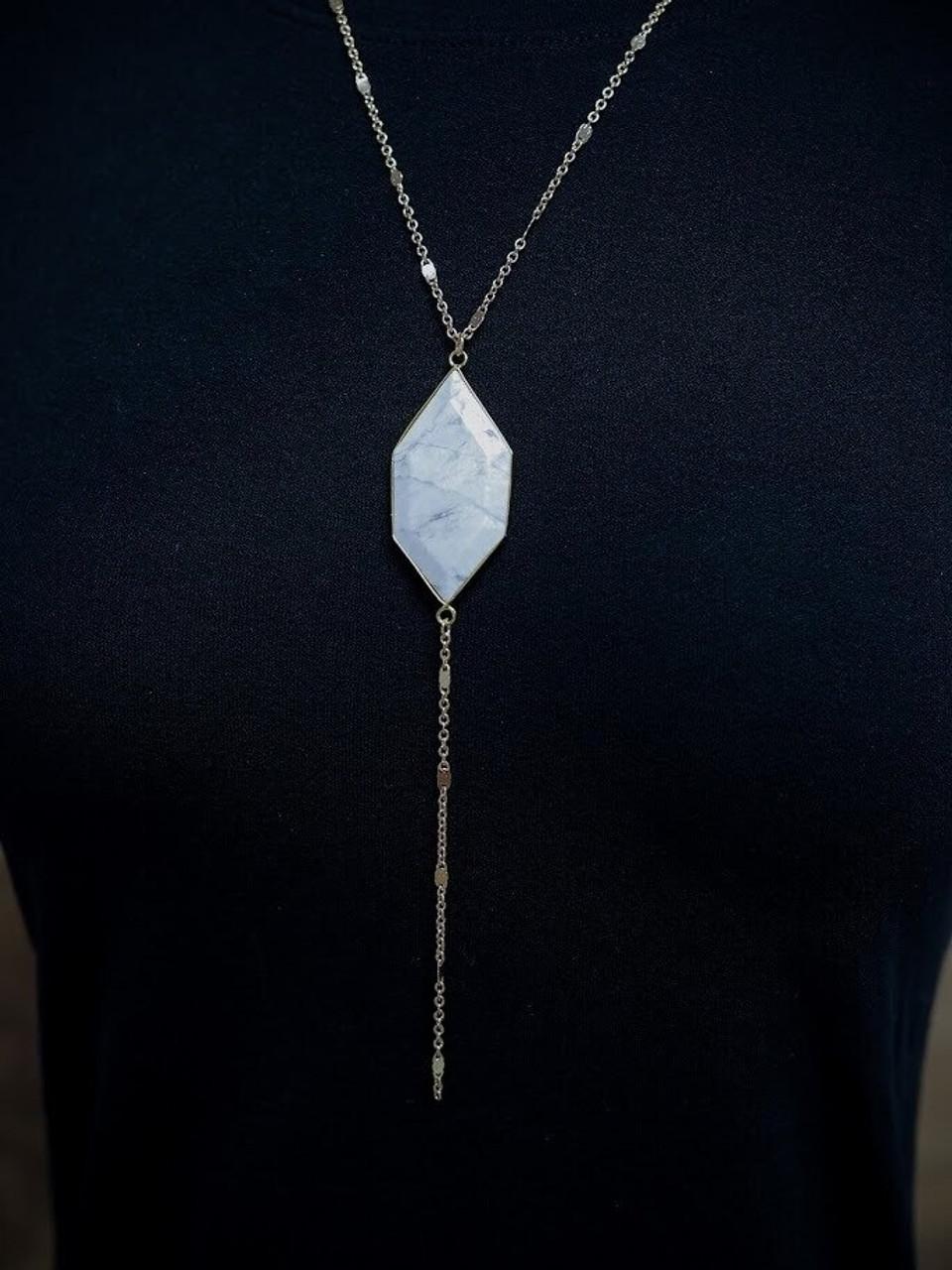 Andrea Stone Pendant Necklace