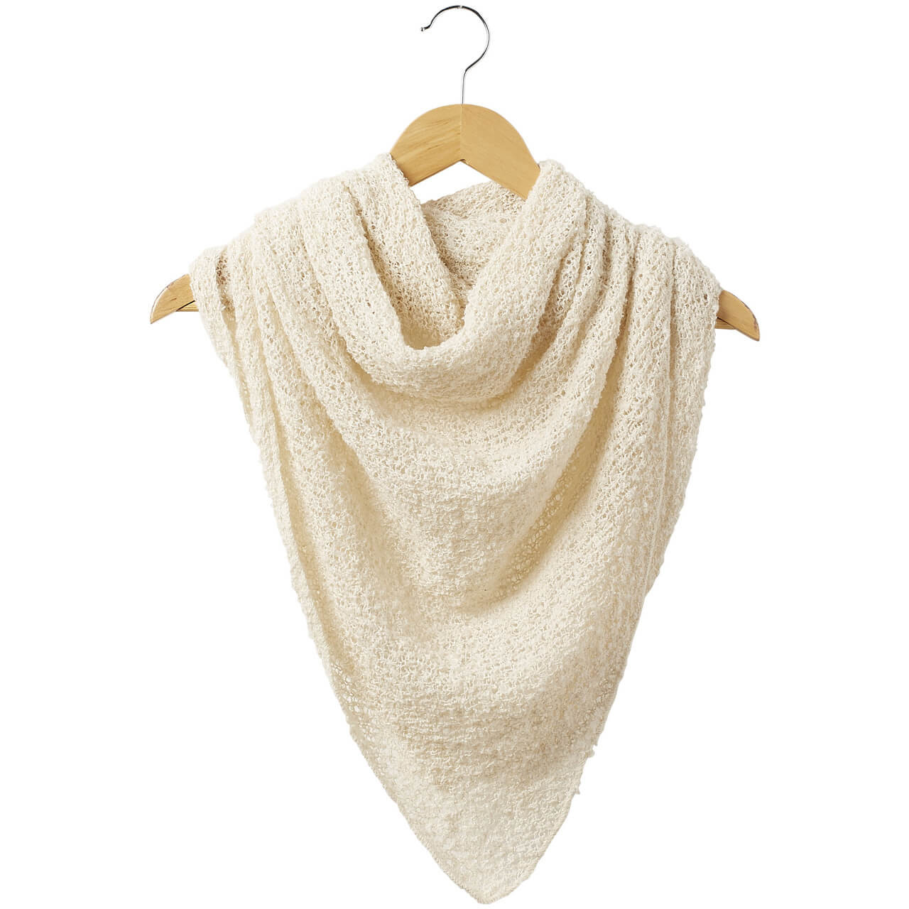 """White Cowboy Scarf Super soft, cozy, comfortable, and non-itching. 66"""" W x 29.5"""" L."""