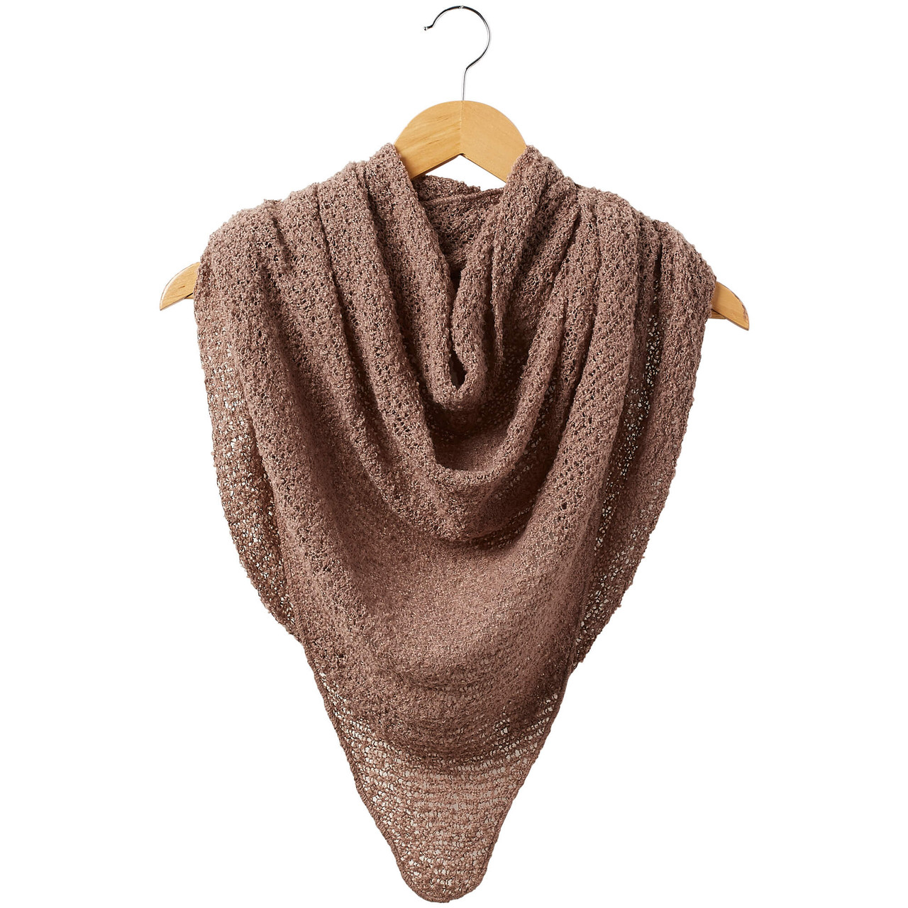 """Beige cowboy scarf Super soft, cozy, comfortable, and non-itching. triangle shaped: 66"""" W x 29.5"""" L."""