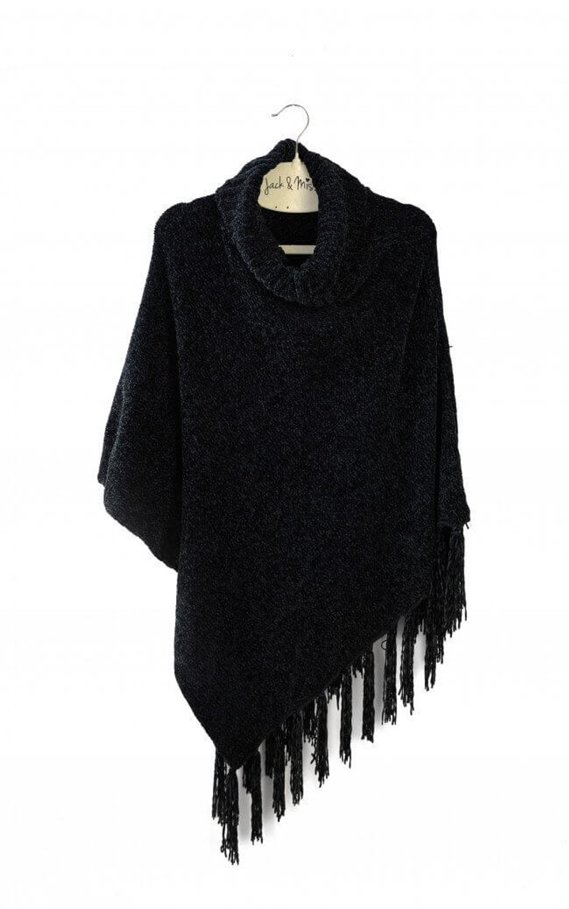 Layer this classic cardigan alternative over anything from camisoles to long sleeves for a uniquely warm look that flatters every shape. One size fits most.