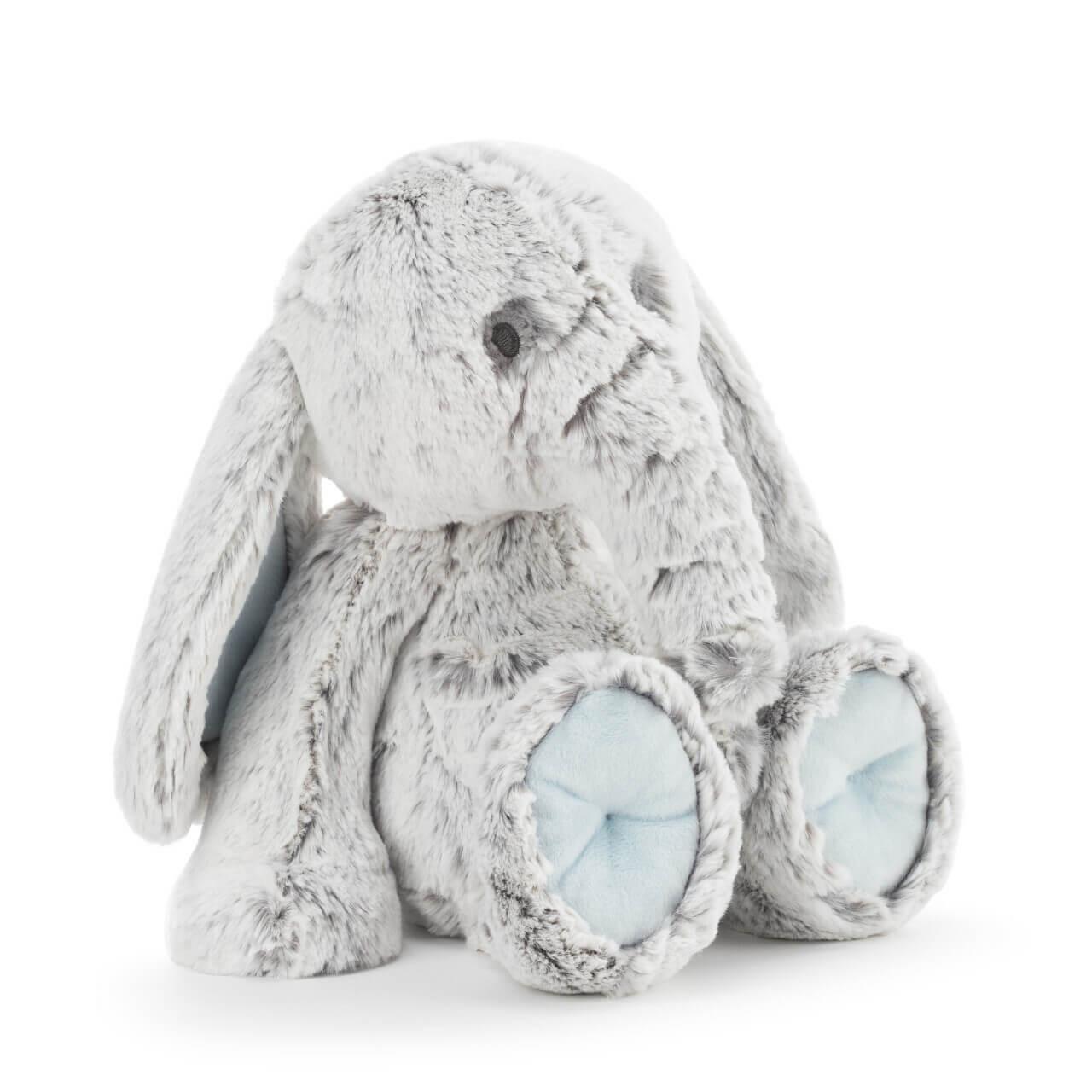 Demdaco Elias gray blue luxurious plush elephant