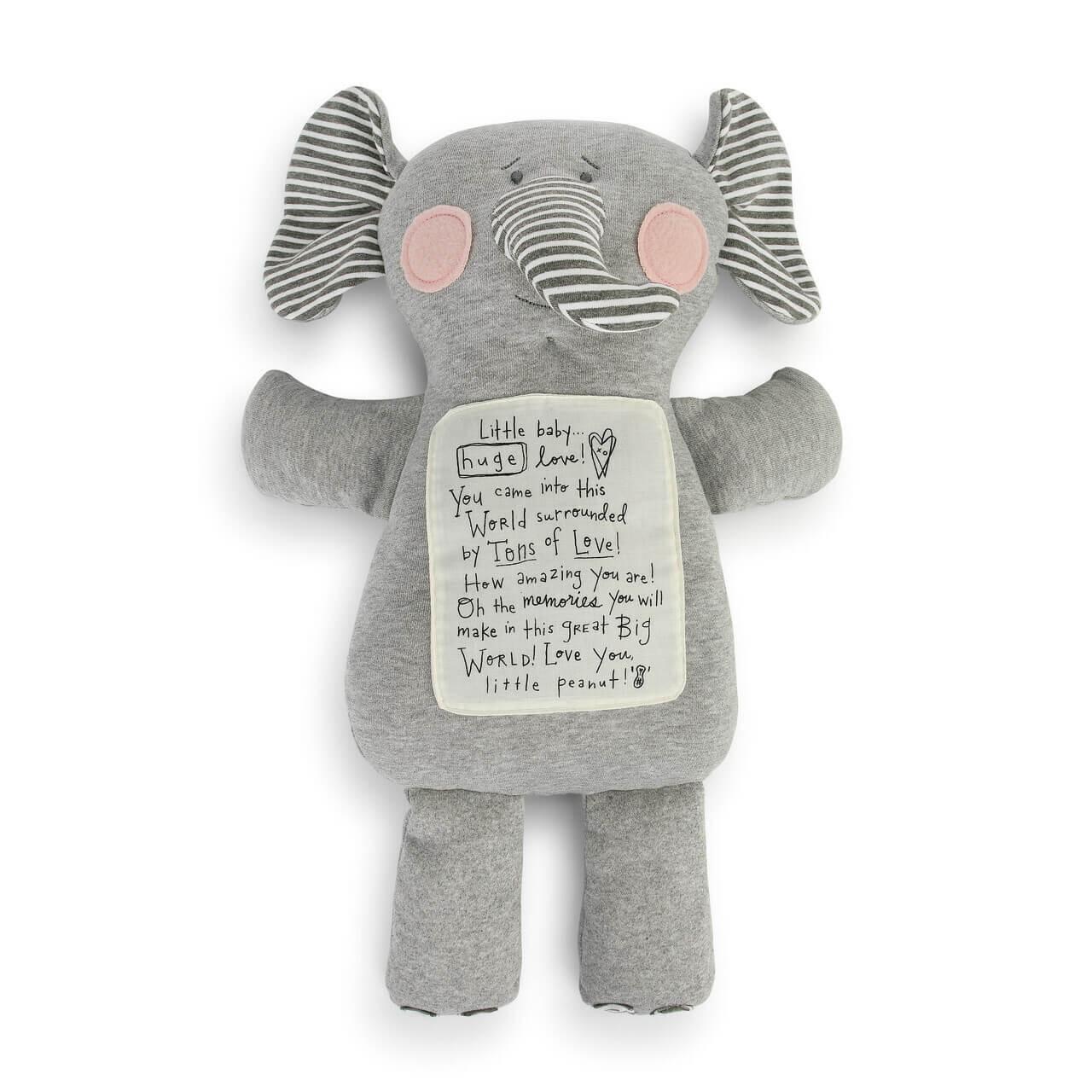 Demdaco Noah's Ark Tons of Love Elephant