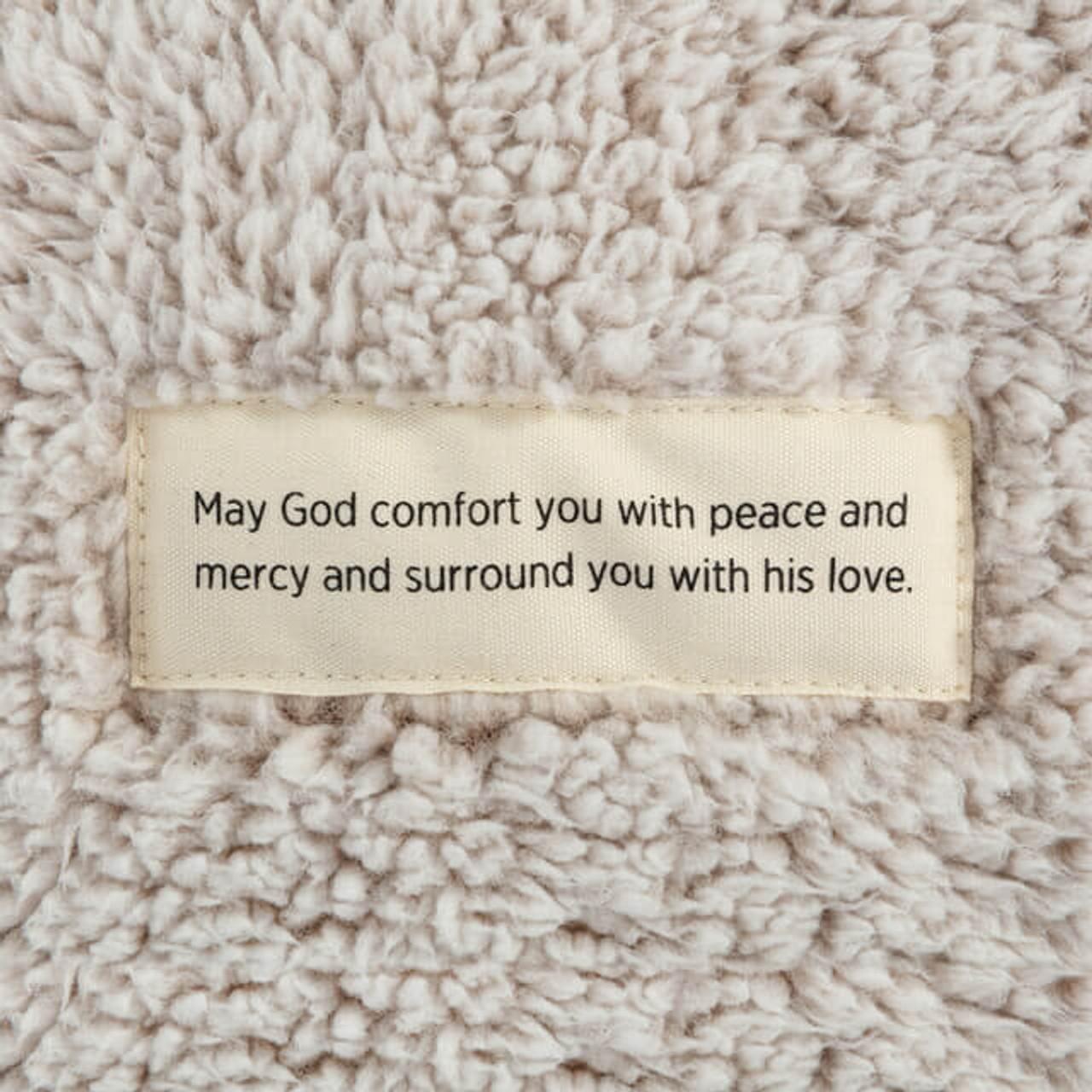 Demdaco remembrance comfort peace plush prayer blanket