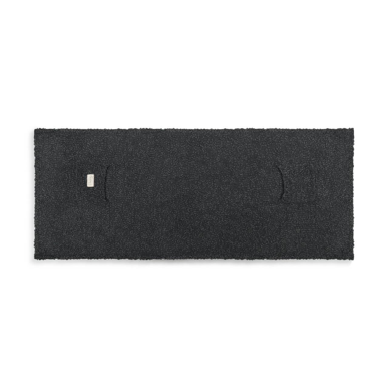 27 x 70 charcoal gray faith shawl pockets