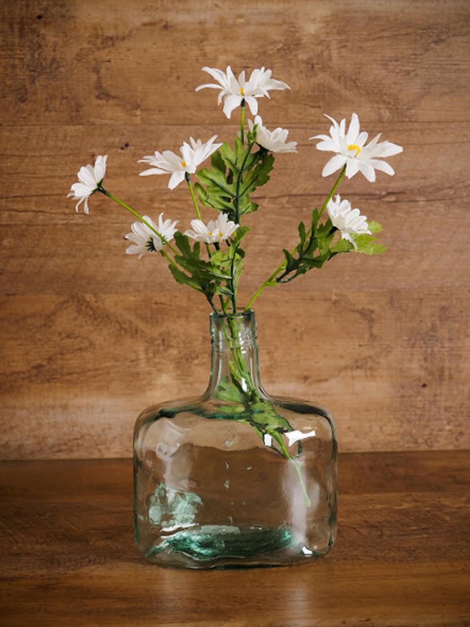 Whiskey Bottle Vase