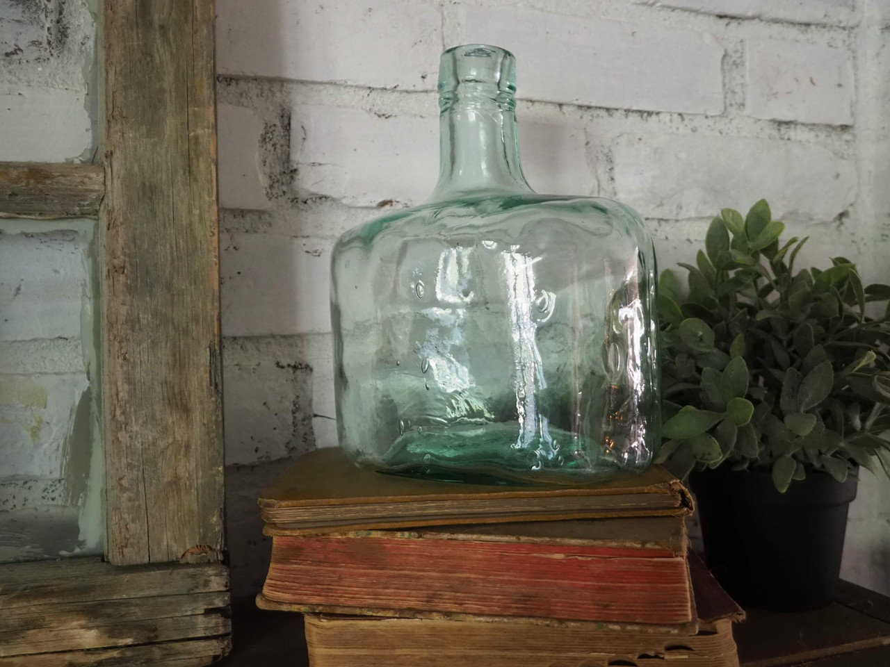 Whiskey Bottle Vase