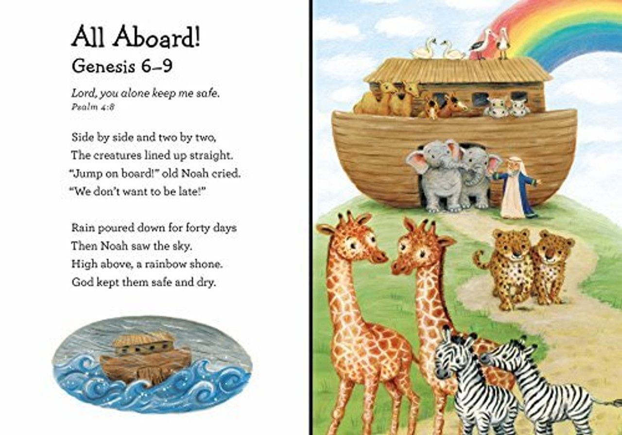 A beautiful collection of twelve beloved Bible stories