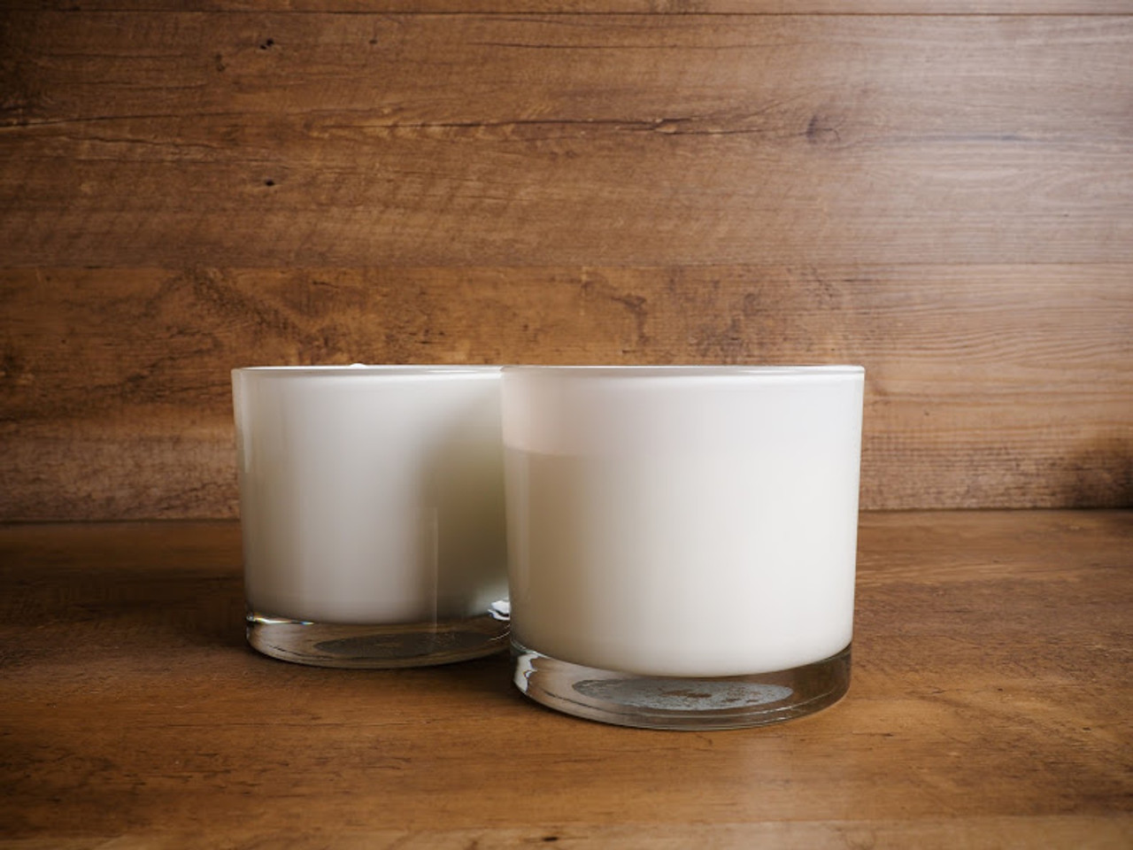 Three Wick White Outdoor Candle