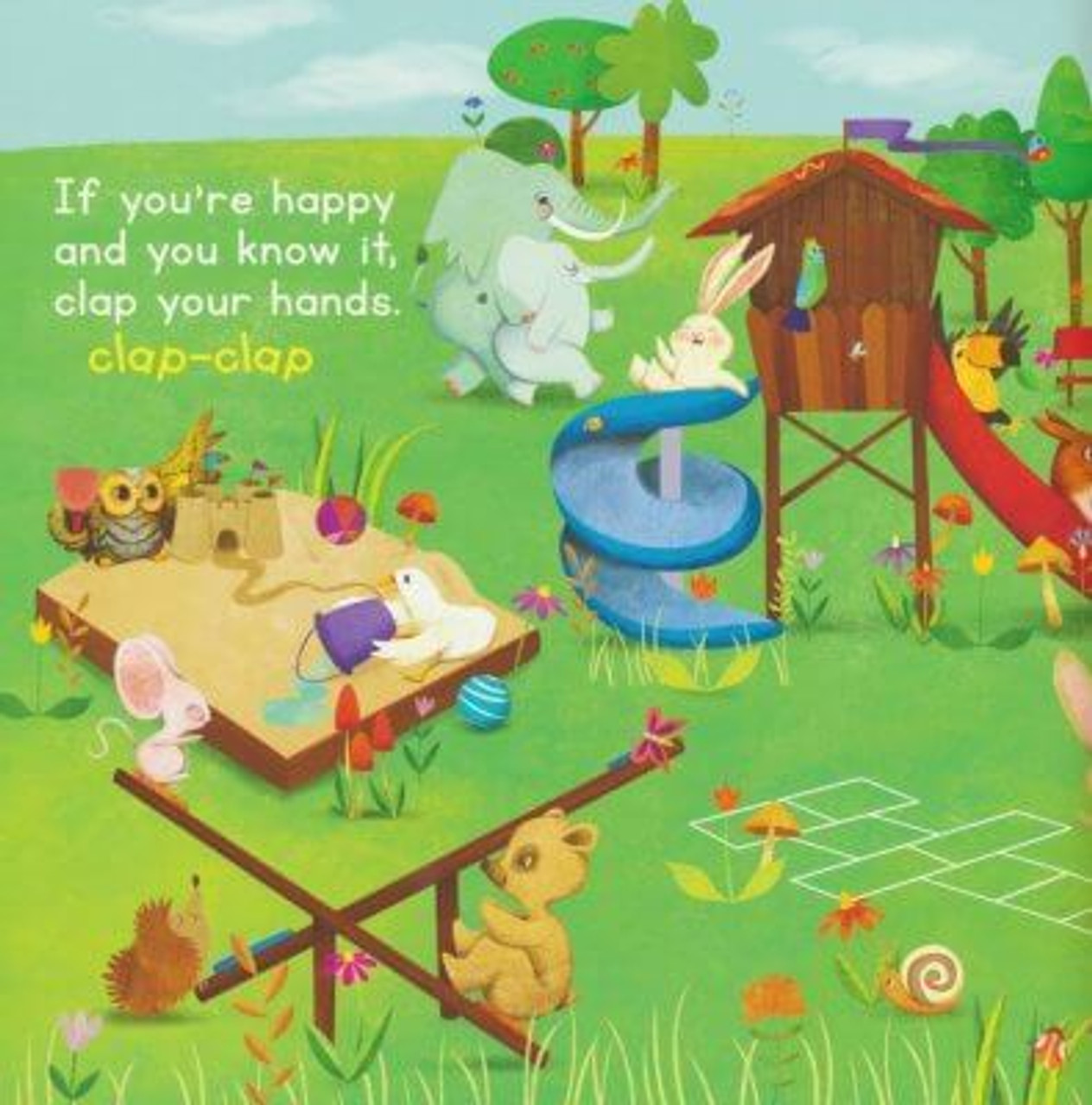 If you're happy and you know it book