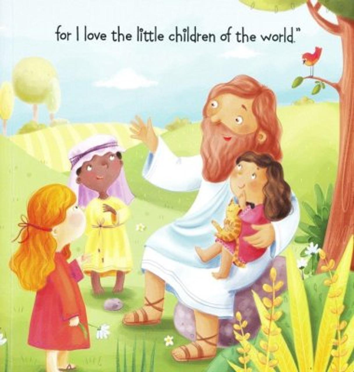 Jesus loves the little children sing along book