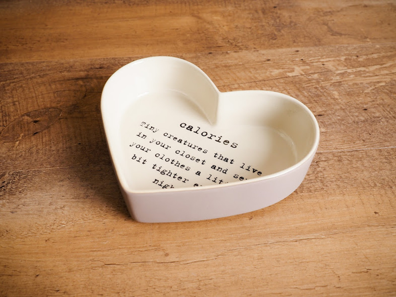 Caroline Heart Shaped Tray