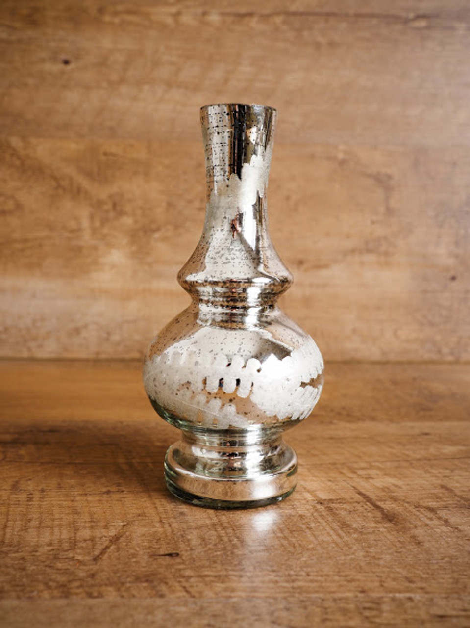 Mercury Glass Bud Vase