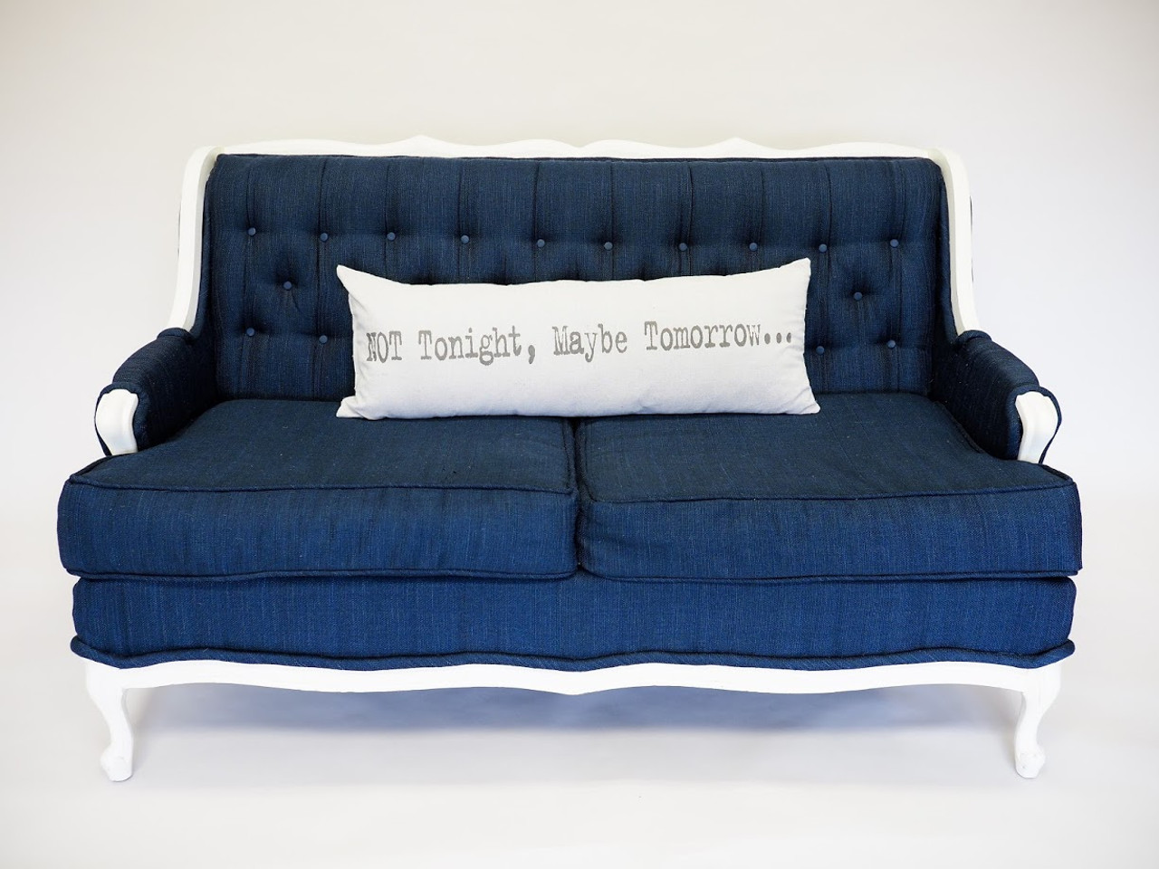 Not Tonight, Maybe Tomorrow...Tonight Is Your Lucky Night! Pillow