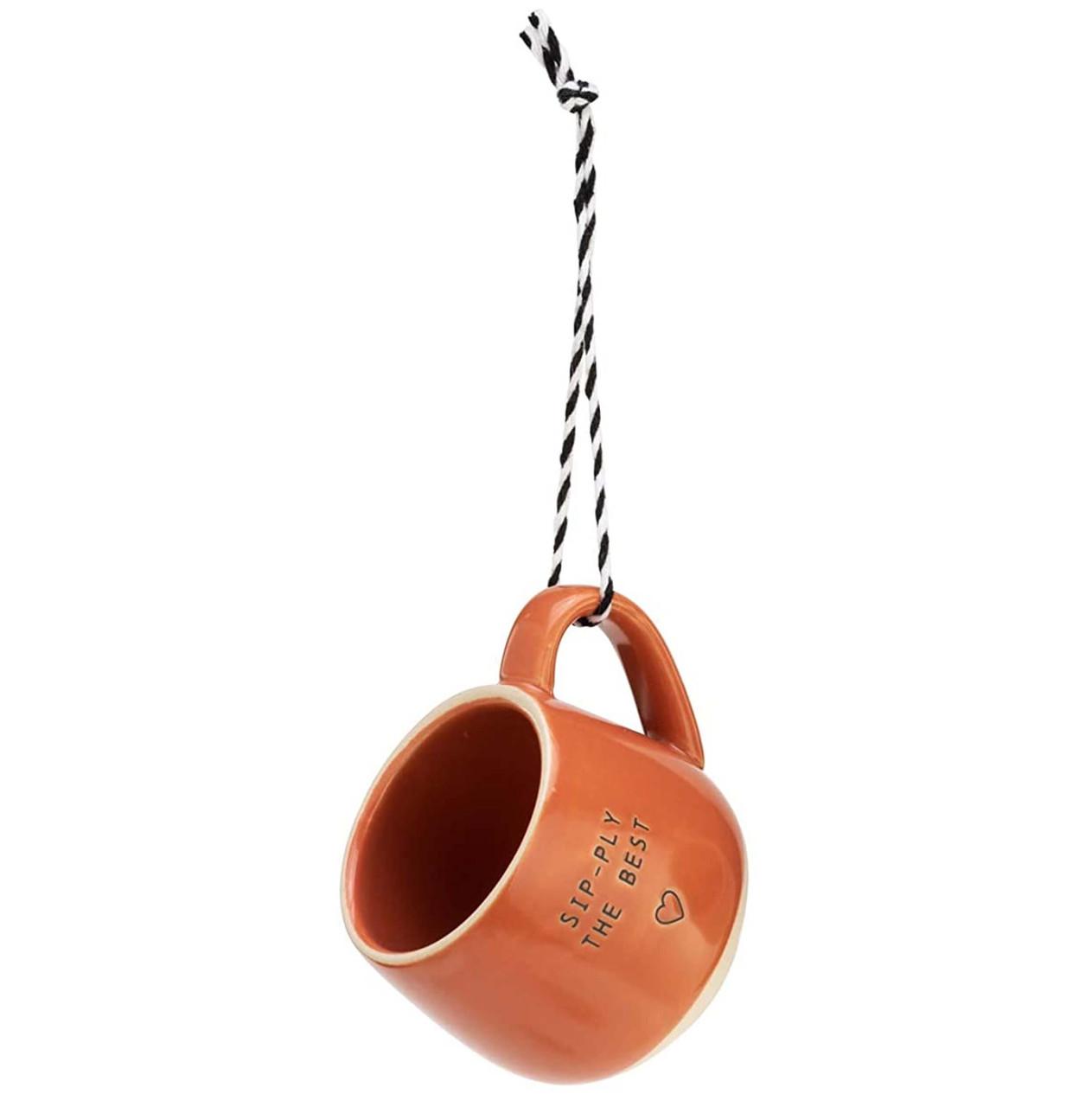Demdaco Pod Mug Ornament