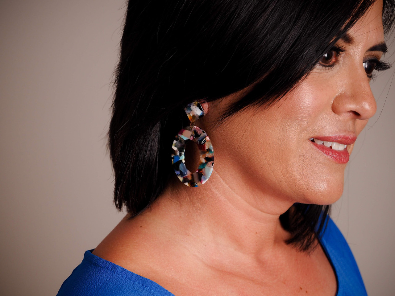 Acrylic Drop Earring