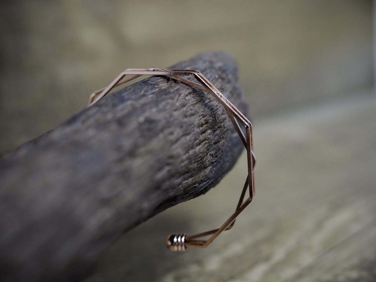 Geometric Cuff Bracelet