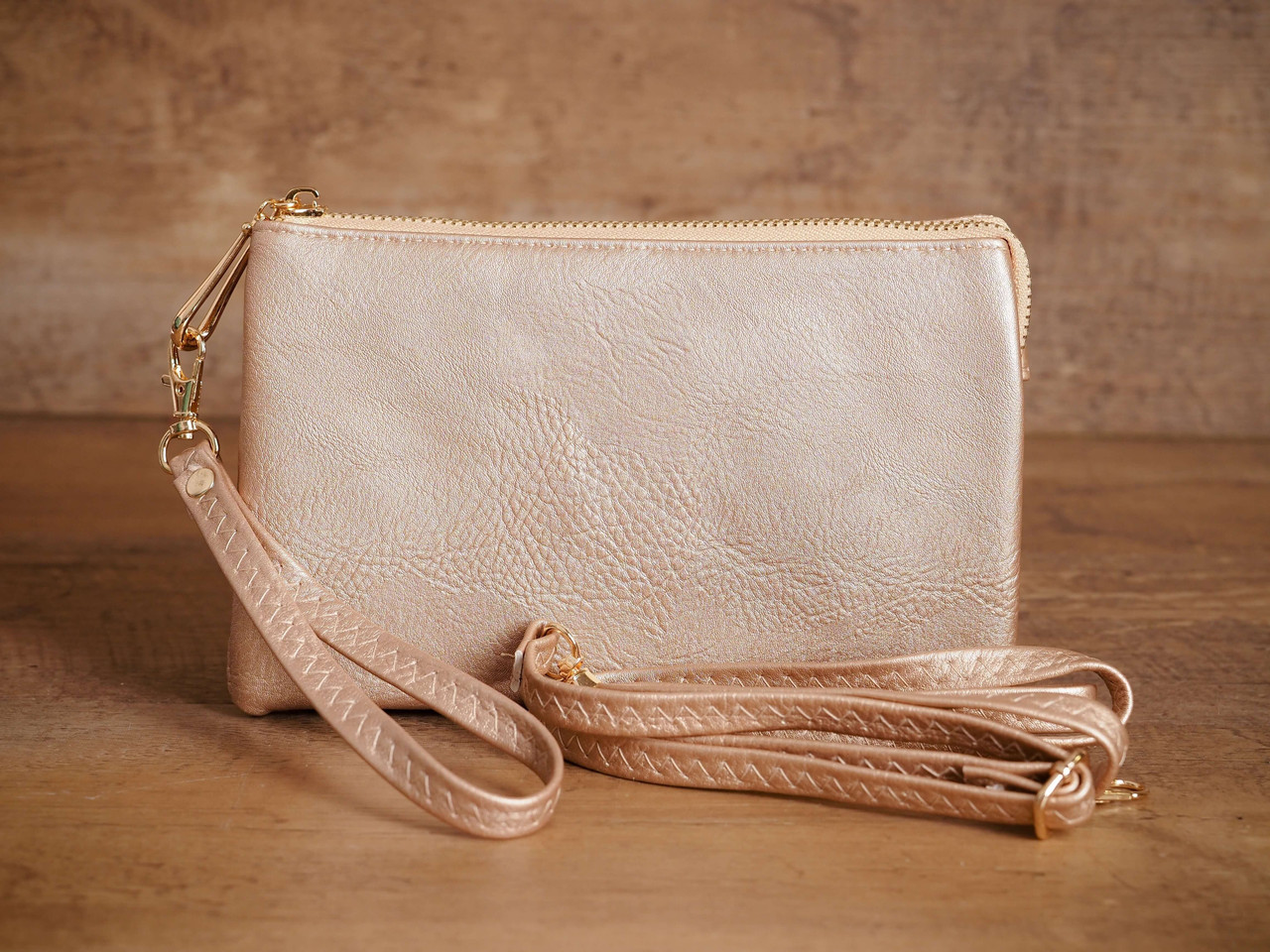 Three Compartment Crossbody