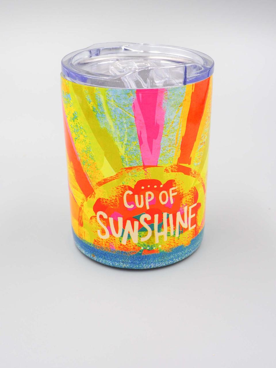 cup of sunshine short tumbler natural life